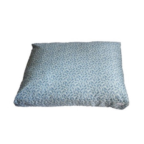 Blue Leaf Bed Duvet by Dog Threads