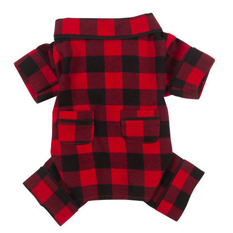 Buffalo Check Flannel PJ by FabDog