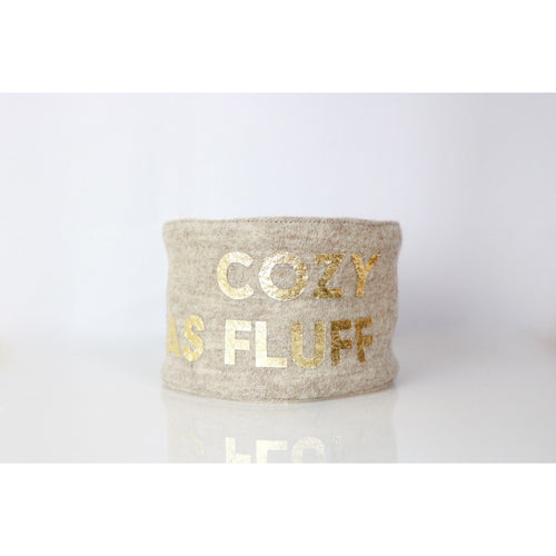 Wanderlust 'Cozy As Fluff' Scarf by Studio Eloise + LELE Collection