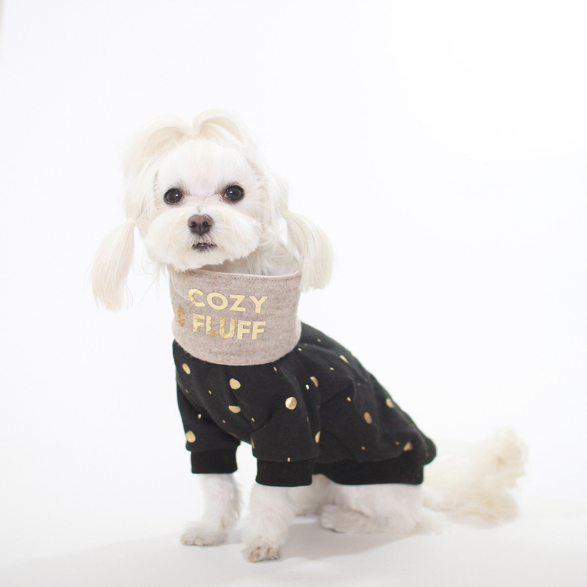 Wanderlust 'Cozy As Fluff' Scarf by Studio Eloise + LELE Collection - Elly for @Pawboutik