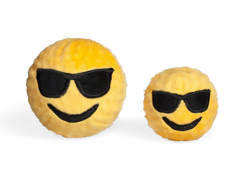 Sunglasses EMOJI Squeaky Ball by FabDog