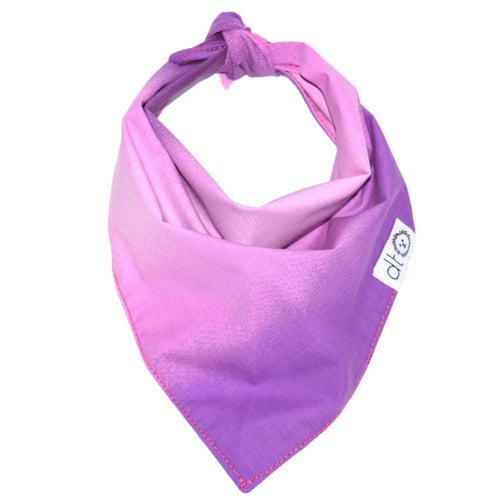 Pink Ombre Bandana by Dog Threads