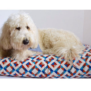 @zoedoodle_mn Modern GEO Bed Duvet by Dog Threads