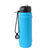 Rolla Bottle Aqua, Black Lid + Black Strap