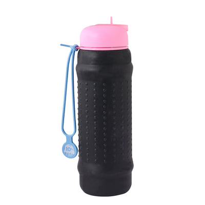 Rolla Bottle Black, Pink + Dusty Blue