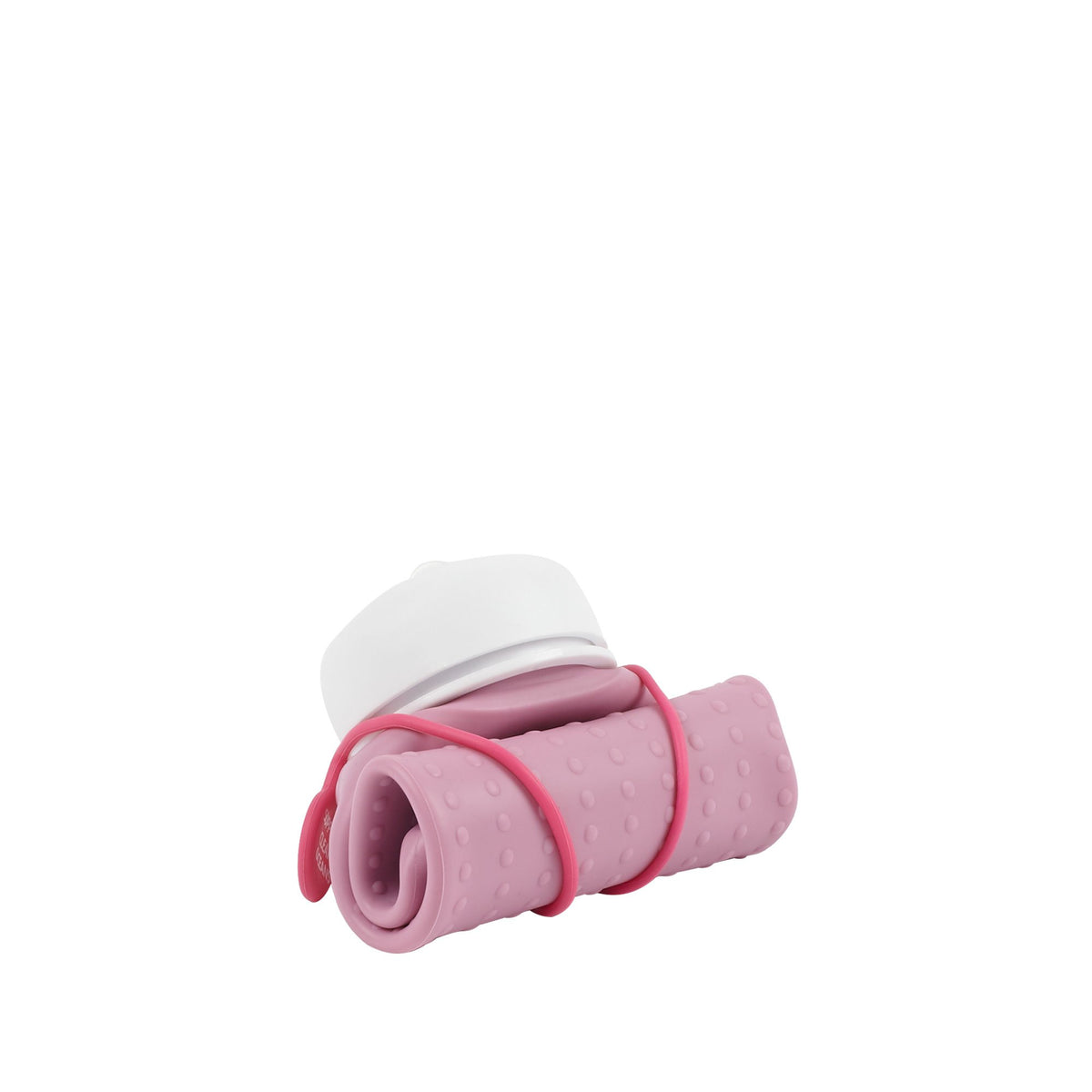 Rolla Bottle Pink Lilac, White Lid + Pink Strap