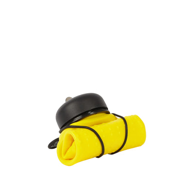Rolla Bottle - Yellow, Black Lid + Black Strap - rolled