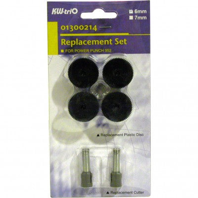 Kit De Remplazo para Perforador Semi Industril Kw-trio 6mm 952