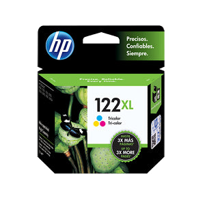 Cartucho de Tinta Original HP 122XL - CH564HL Color