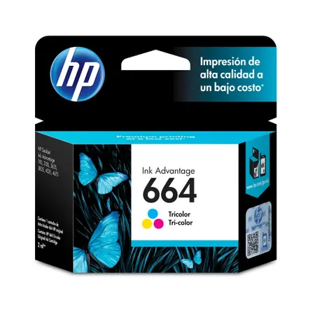 Cartucho de Tinta HP Original F6V28AL 664 Color