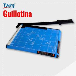 TWINS GUILLOTINA METALICA 10 HJS OF