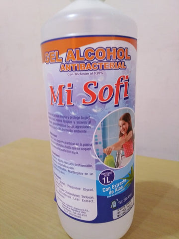 GEL ALCOHOL ANTIBACTERIAL MI SOFI 1LT