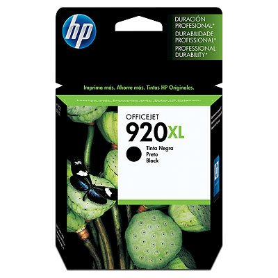 Cartucho de Tinta Original HP 920XL - CD975AL Negra Alto Rendimiento Impresora OfficeJet 6000, 6500, 7000, 7500a