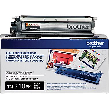 Toner Brother Original TN210BK Negro