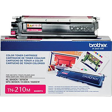 Toner Brother Original TN210M Magenta