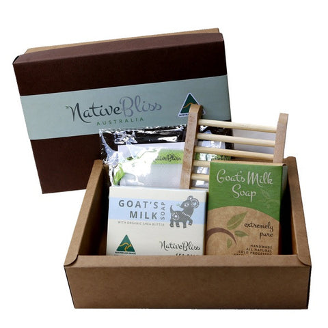 Gift Pack<br>Sea Salt Shea Butter Essentials Soap Gift Pack