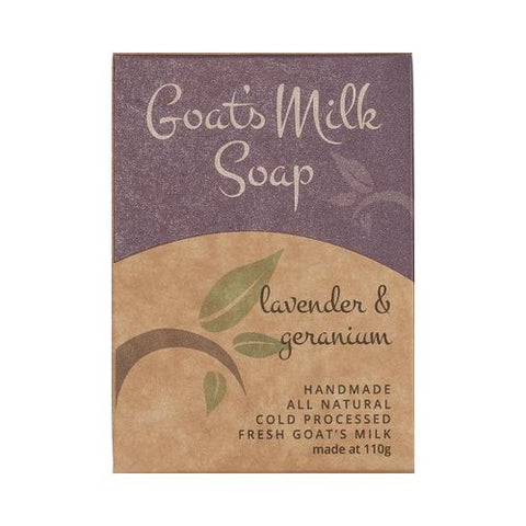 Goats Milk Soap<br>Scented Bliss<br>Lavender and Geranium