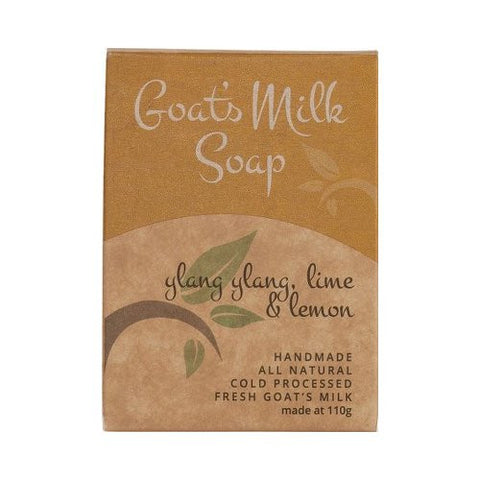 Goats Milk Soap<br>Scented Bliss<br>Ylang Ylang, Lime & Lemon