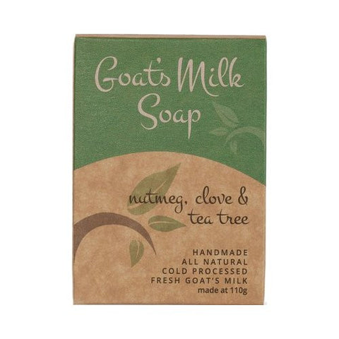 Goats Milk Soap<br>Scented Bliss<br>Nutmeg, Clove and Teatree