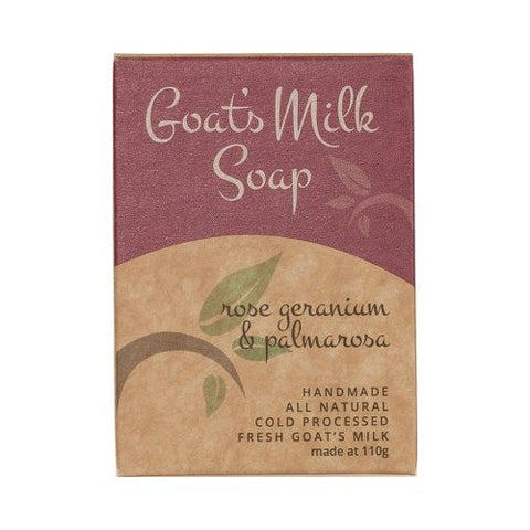 Goats Milk Soap<br>Scented Bliss<br>Rose Geranium & Palmarosa