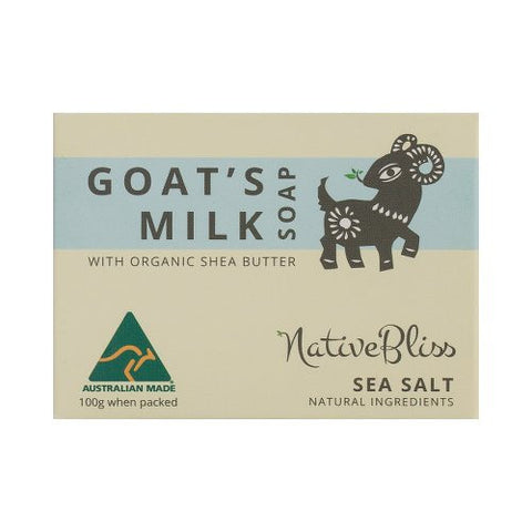 Goats Milk Soap<br>Shea Butter<br>Sea Salt