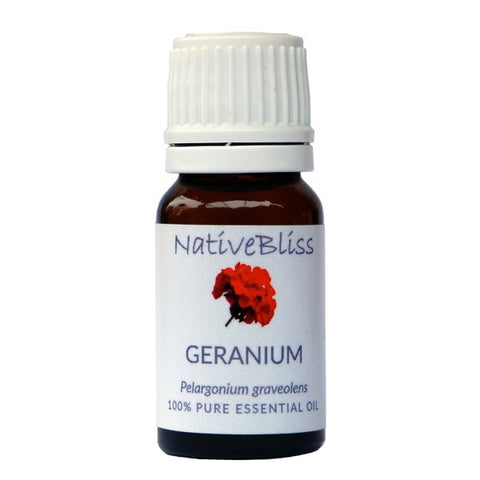 100% Pure Essential Oil<br>Geranium