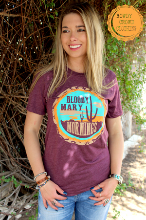 Bloody Mary Mornings Tee