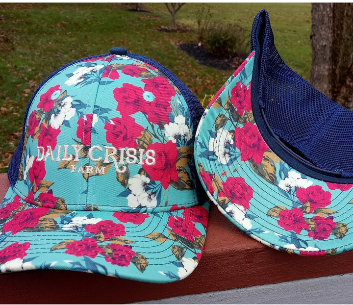 Daily Crisis Floral Hat