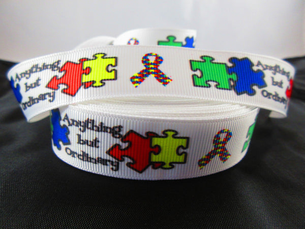 "1"" Autism Awareness Pig Harness - Penny and Hoover's Pig Pen"