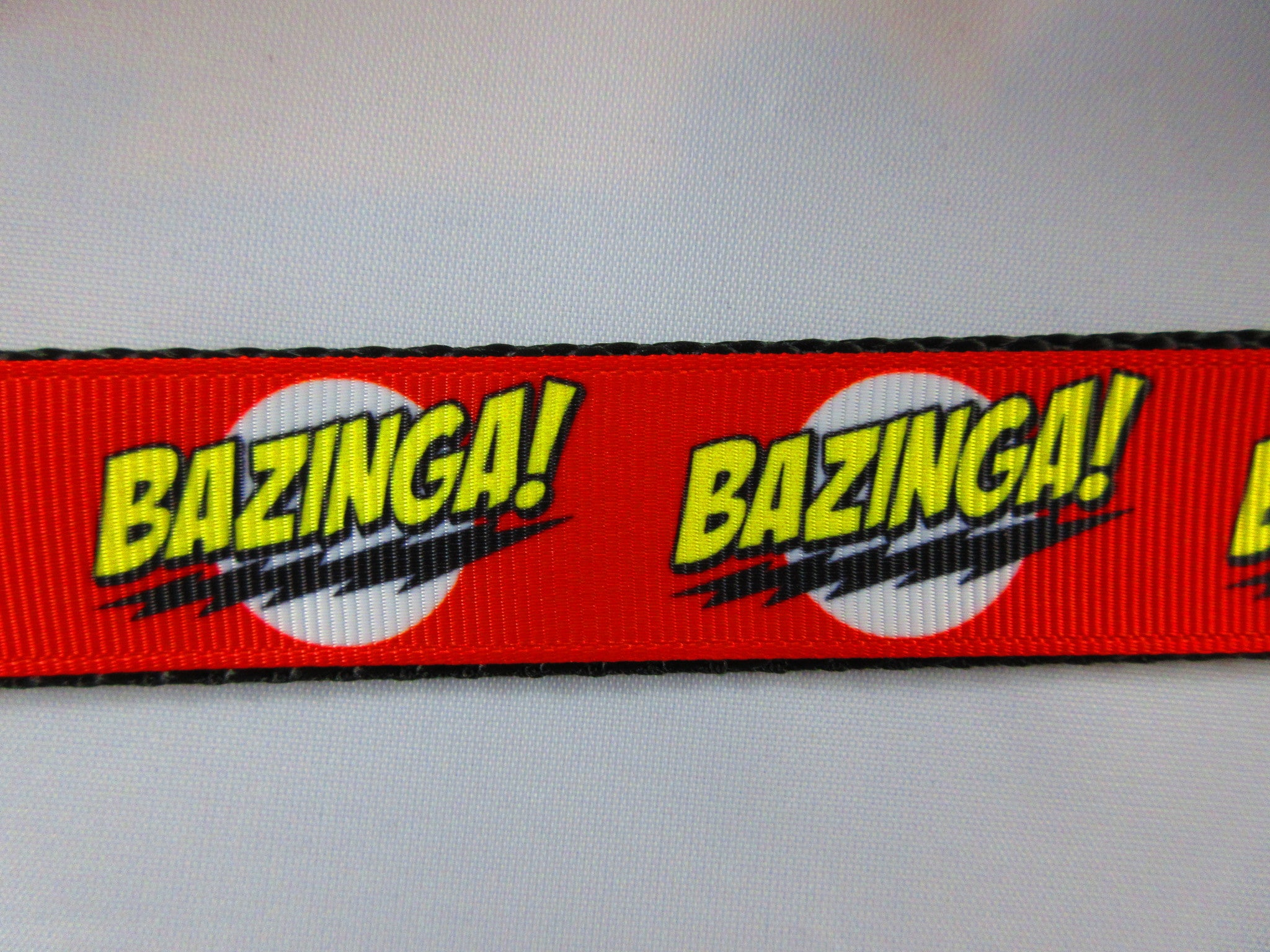 "1"" Bazinga Dog Collar - Penny and Hoover's Pig Pen"