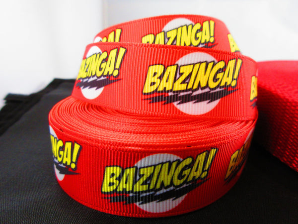 "1"" Bazinga Leash - Penny and Hoover's Pig Pen"