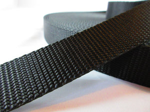 "3/4"" Black Nylon Collar - Penny and Hoover's Pig Pen"