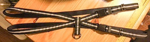 "3/4"" Black Reflective Pig Harness - Penny and Hoover's Pig Pen"