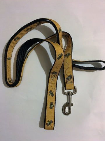 "1"" Busy Bee Leash - Penny and Hoover's Pig Pen"