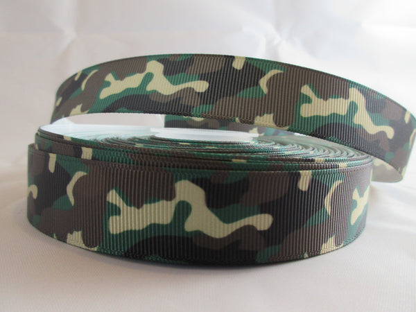 "1"" Camo Dog Collar - Penny and Hoover's Pig Pen"