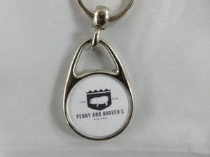 Circle Key Chain - Penny and Hoover's Pig Pen