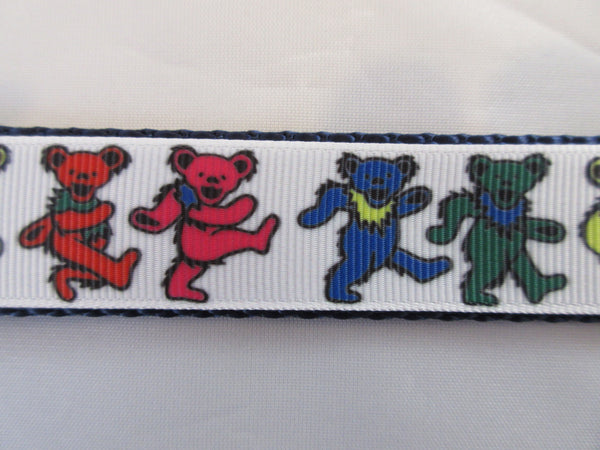 "1"" Dancing Bears Leash - Penny and Hoover's Pig Pen"