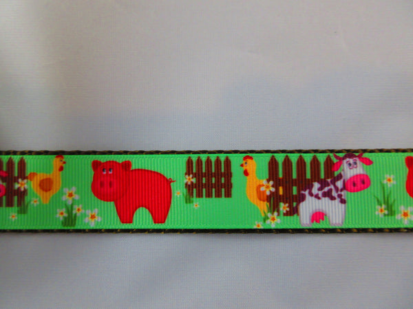"1"" Farm Animals Leash - Penny and Hoover's Pig Pen"