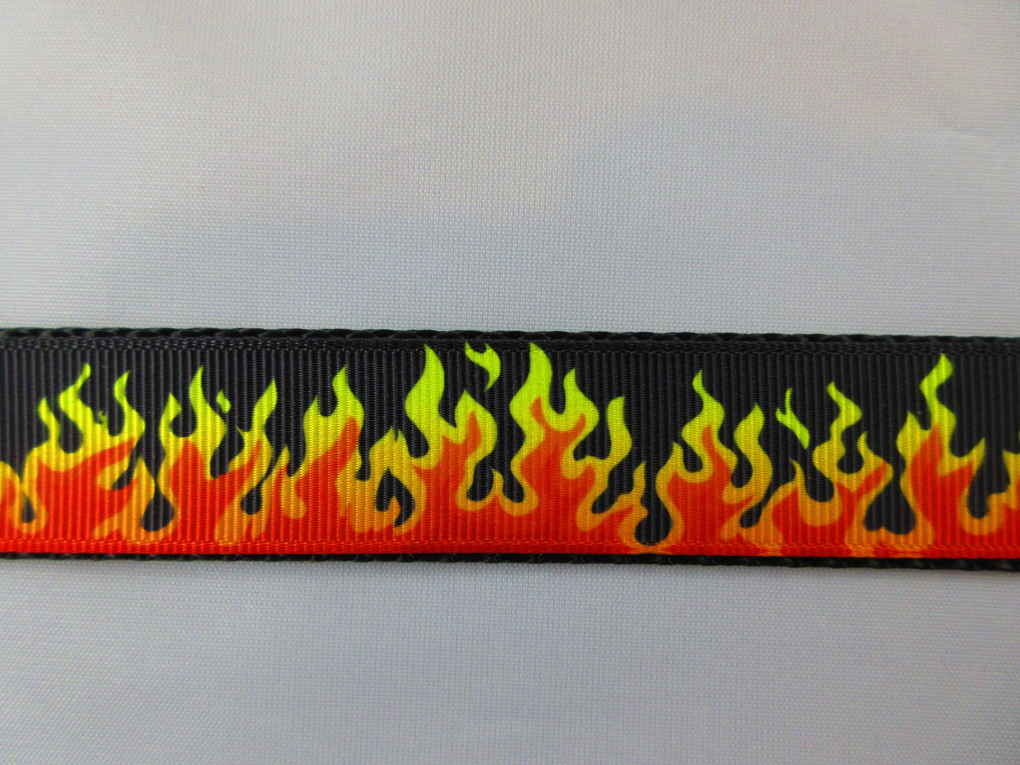"3/4"" Flames Leash - Penny and Hoover's Pig Pen"