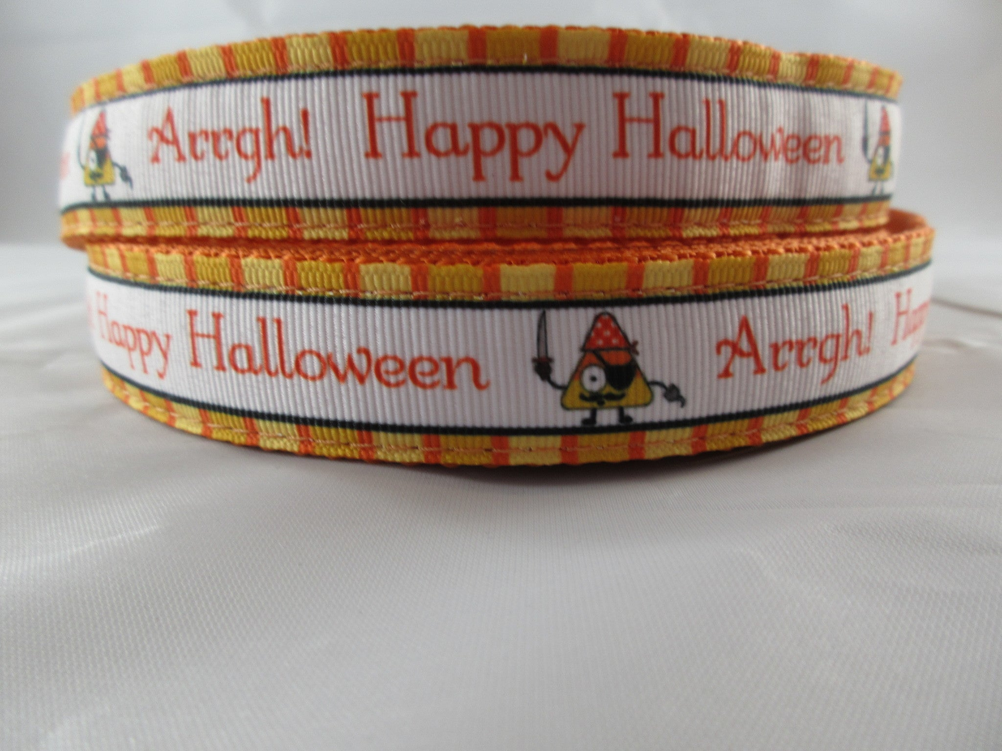 "1"" Pirate Halloween Dog Collar - Penny and Hoover's Pig Pen"