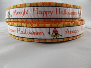 "1"" Pirate Halloween Leash - Penny and Hoover's Pig Pen"