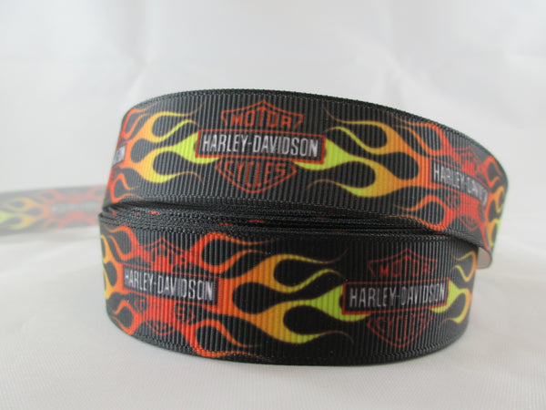 "1"" Harley Davidson Dog Collar - Penny and Hoover's Pig Pen"