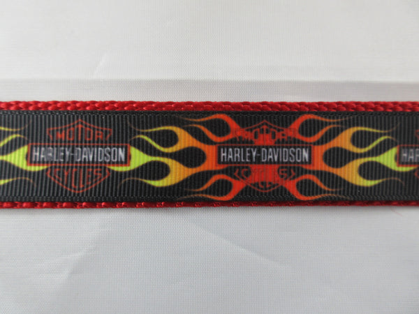 "1"" Harley Davidson Leash - Penny and Hoover's Pig Pen"