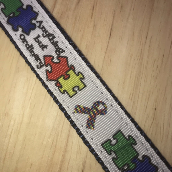 "1"" Autism Awareness Leash"