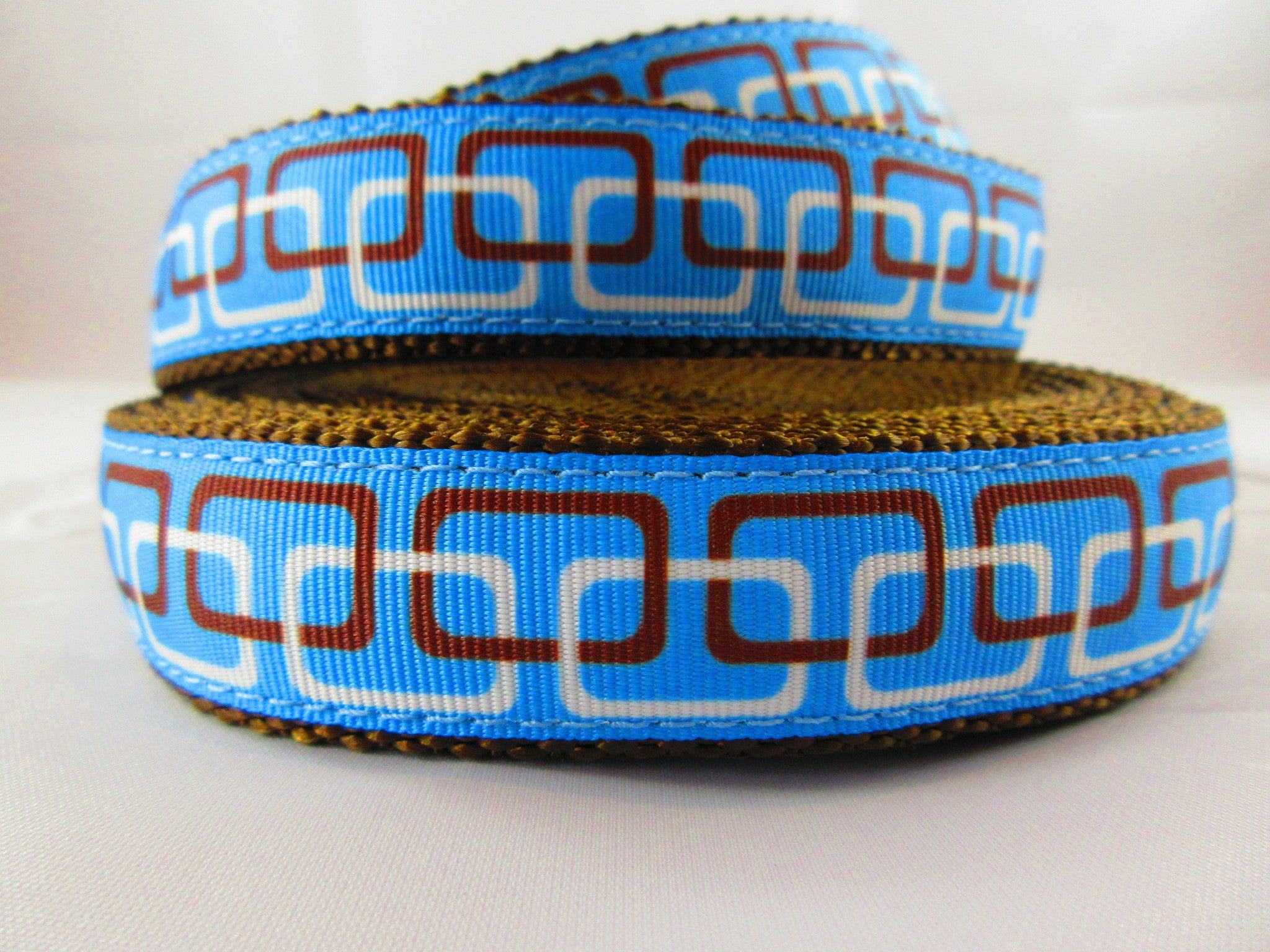 "1"" Linkz Dog Collar - Penny and Hoover's Pig Pen"