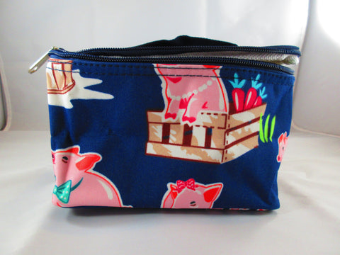 Pig Cosmetic Case - Penny and Hoover's Pig Pen