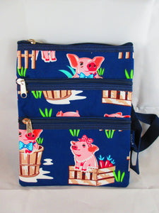 Pig Messenger Bag - Penny and Hoover's Pig Pen