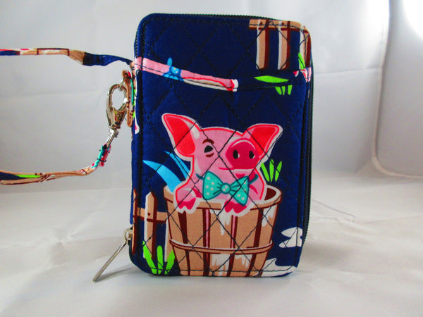 Pig Wallet - Penny and Hoover's Pig Pen