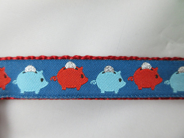 "3/4"" Piggy Bank Pig Harness - Penny and Hoover's Pig Pen"