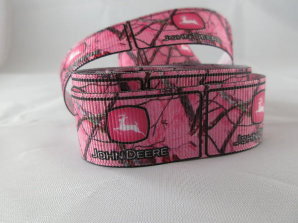 "1"" Pink JD Real Tree Camo Pig Harness - Penny and Hoover's Pig Pen"